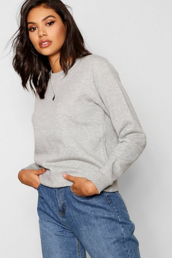 Sophia Basic Oversized Sweatshirt