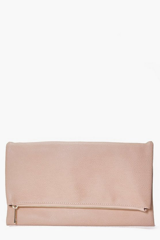 Daisy Fold Over Clutch Bag