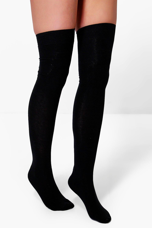 074921d157a9 Pack 3 calcetines por encima de rodilla   Boohoo