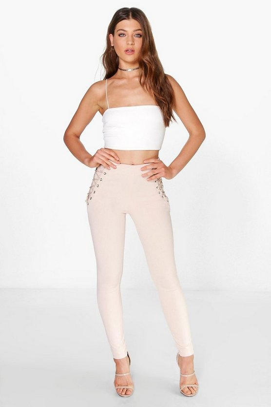 Boutique Tia Lace Up Trouser