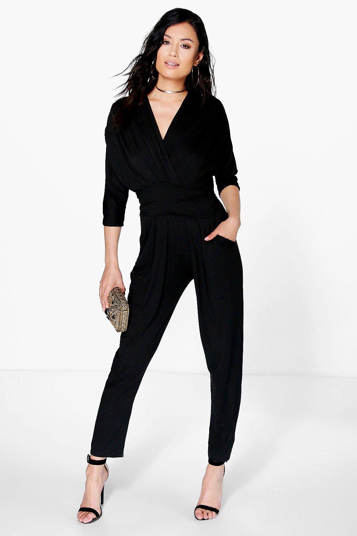 variety design innovative design search for latest Anna Tie Waist Jumpsuit   Boohoo