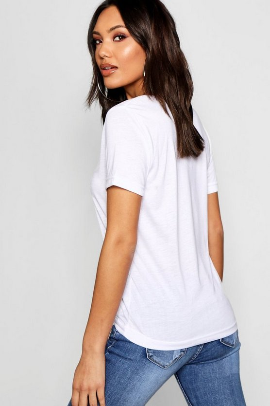 Basic Super Soft V Neck T-Shirt