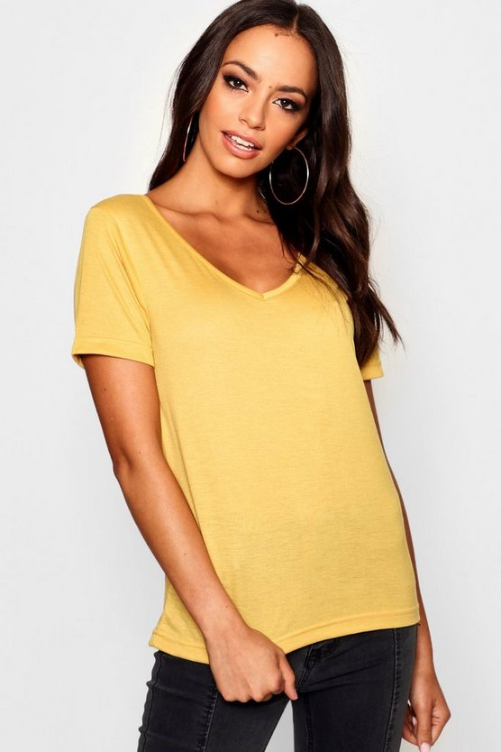 Basic Supersoft V Neck T-Shirt