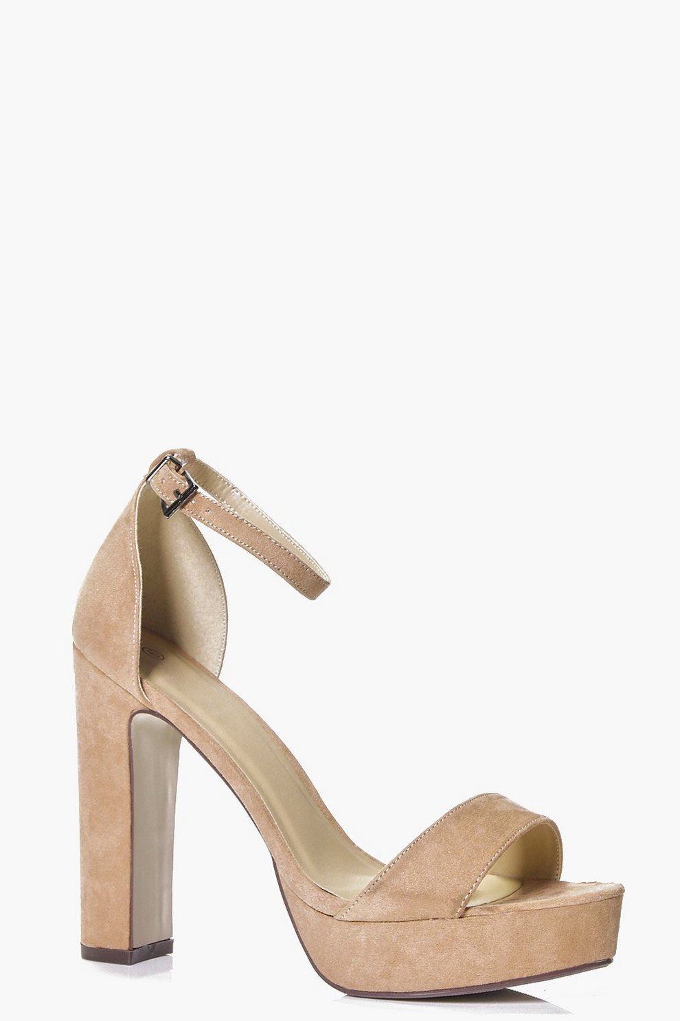 c14ff2ab3 Katie Two Part Platform Heel