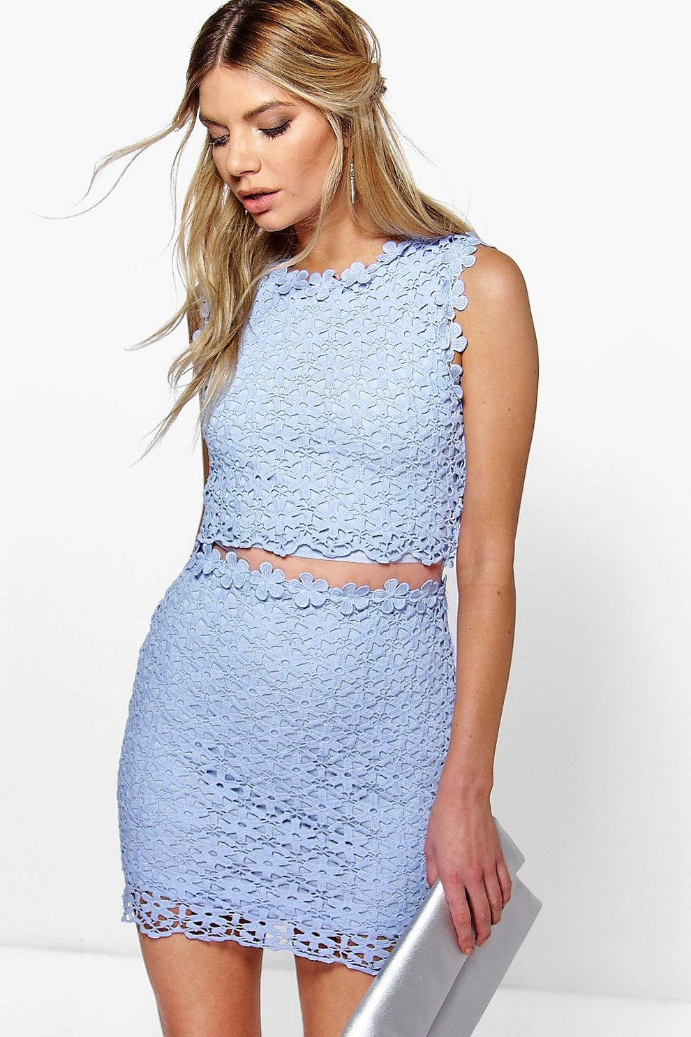 da362dfaeead Boutique Lucy Lace Double Layer Bodycon Dress | Boohoo
