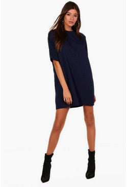 Womens Midnight Box Shift Dress