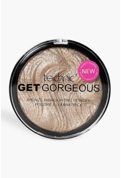 Get Gorgeous Highlighter Bronzer, Bronze, Weiblich