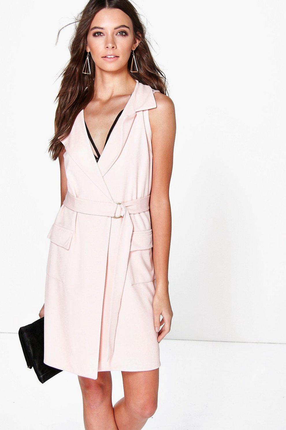 2f46e17cd5 Carmel Sleeveless Blazer Dress