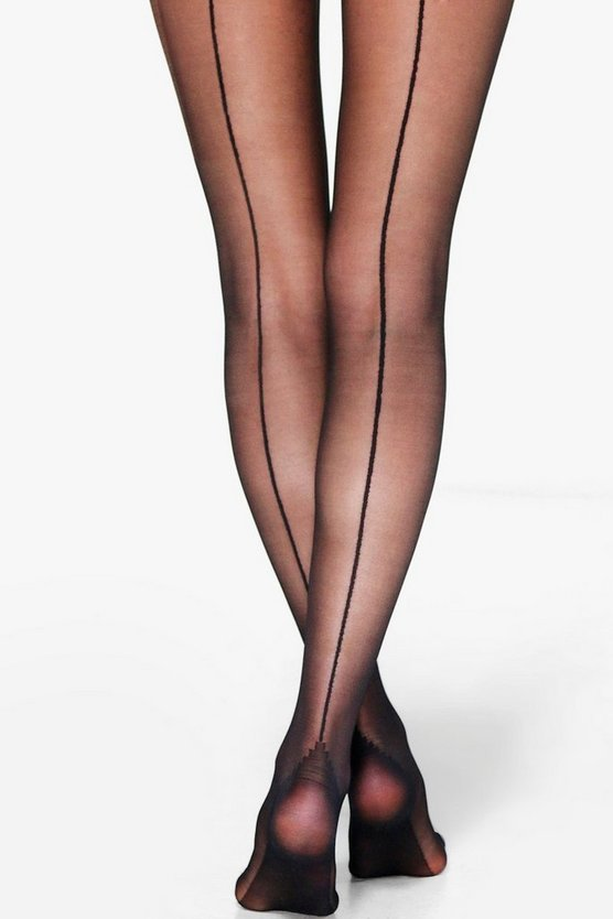Evie Seam Back Sheer 20 Denier Tights
