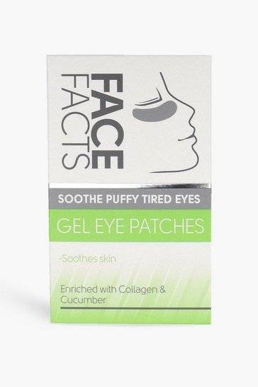 Womens Clear Tired Eyes Gel Eye Patches