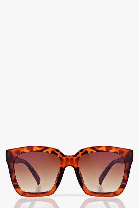 Isla Oversized Square Frame Fashion Glasses