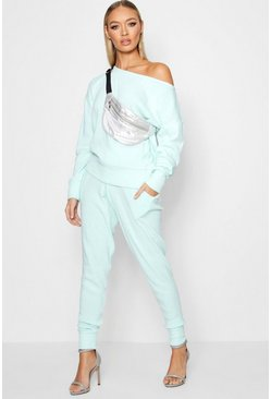 Womens Mint Boutique Heavy Knitted Loungewear Set