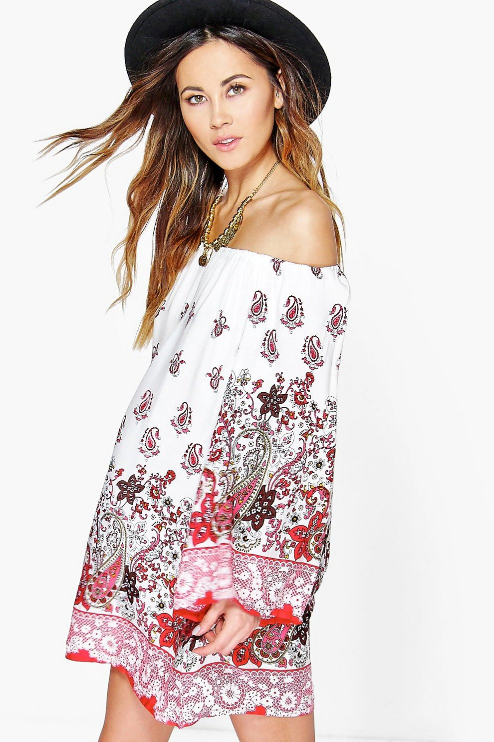 The Festival Lola Shoulder Dress Off vO8Nmwn0
