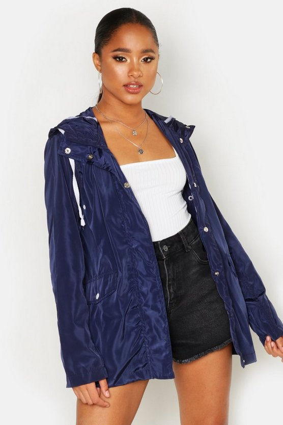 Womens Navy Festival Mac