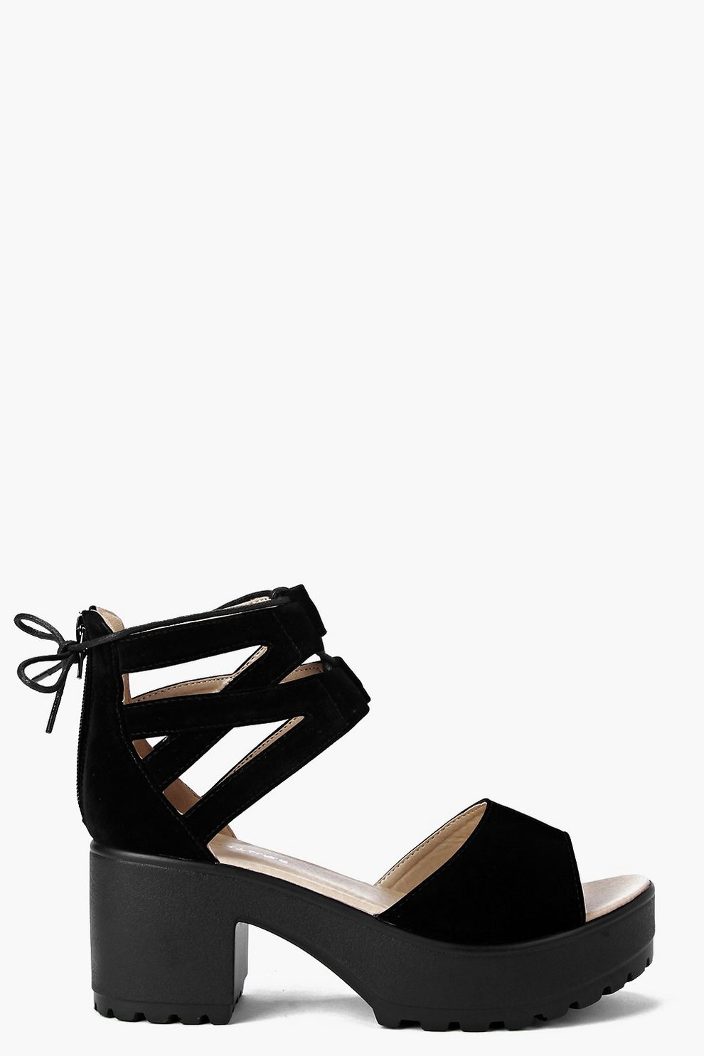 3e4b688a7d2 Amy Lace Up Two Part Cleated Sandal