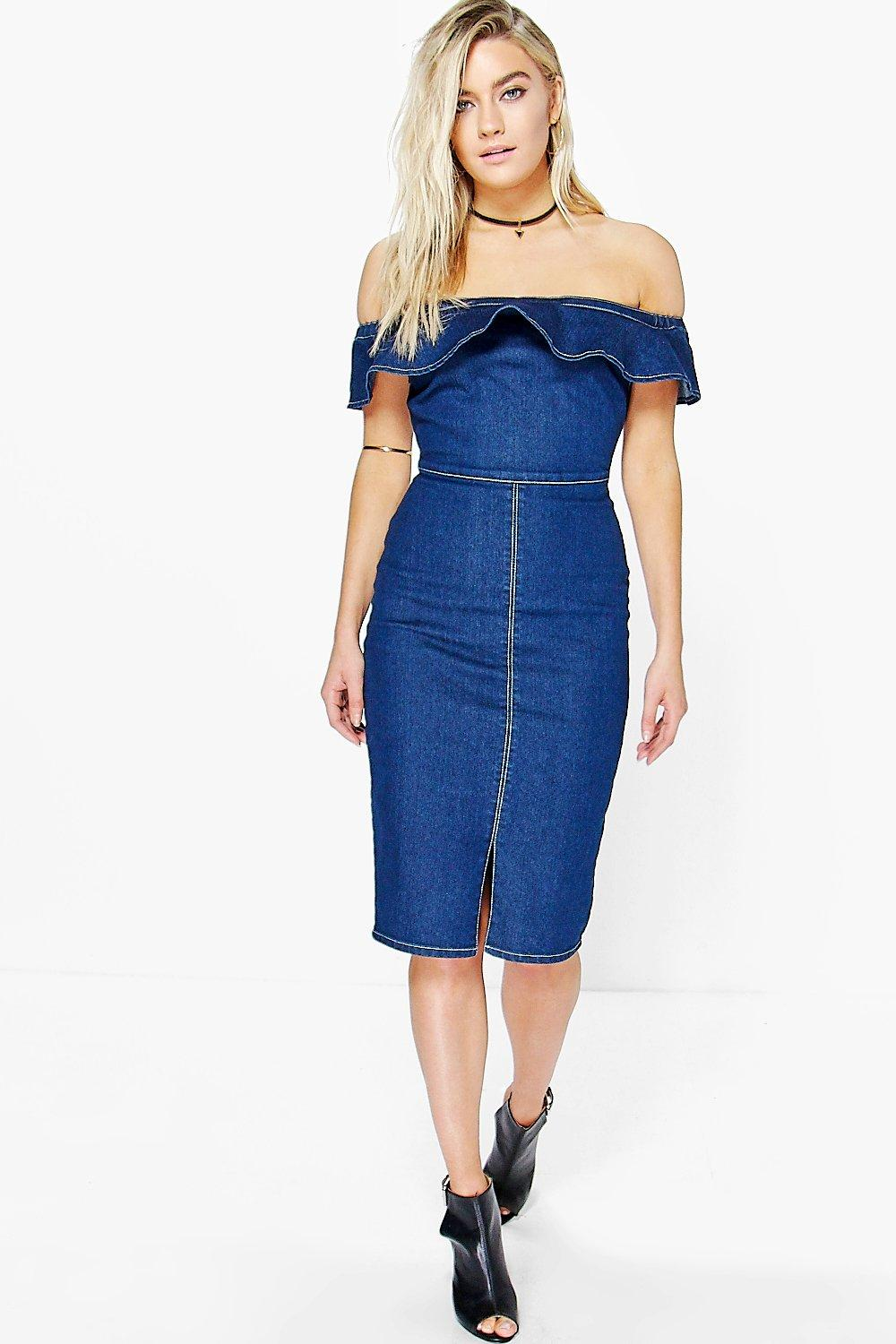 ffe0d967dd Emily Off The Shoulder Bodycon Dress. Hover to zoom