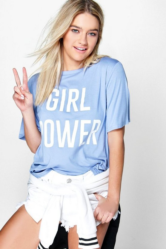 Florence Girl Power Slogan Tee