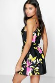 5aa0c7deaa47 ... Elle Strappy Floral Sundress alternative image ...