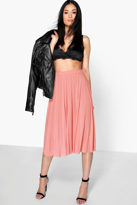 07b41c8be Pink Midi Skirt