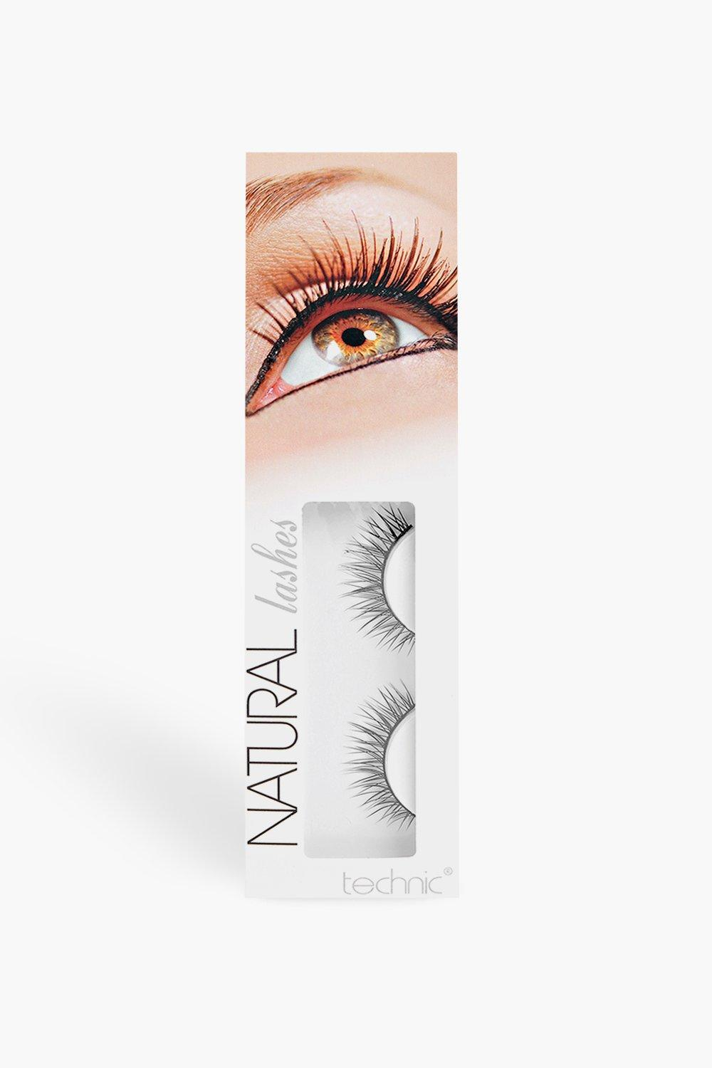 Technic Natural False Eyelashes Boohoo