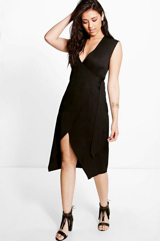 Allie Wrap Front Dress