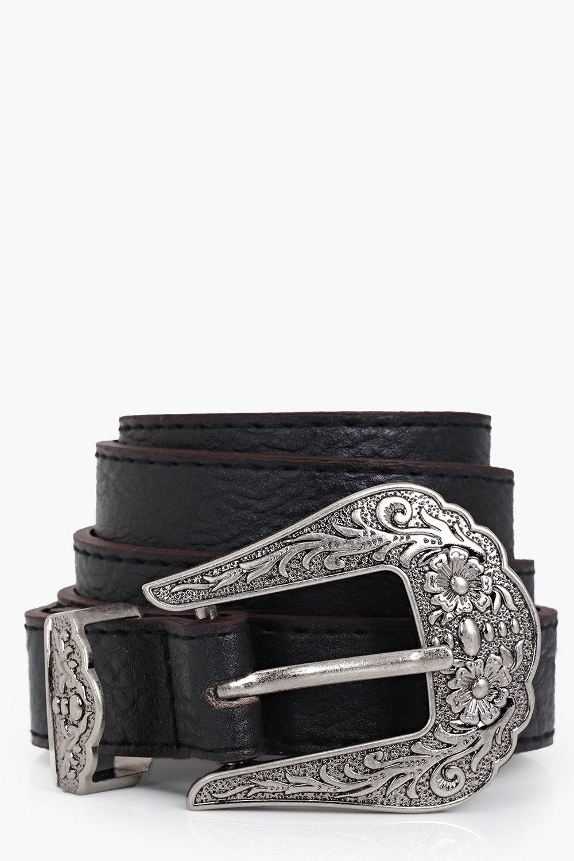 c505caf37f7c Western Buckle Boyfriend Belt. Hover to zoom
