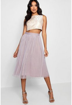 Womens Multi Boutique  Jacquard Top Midi Skirt Co-Ord Set