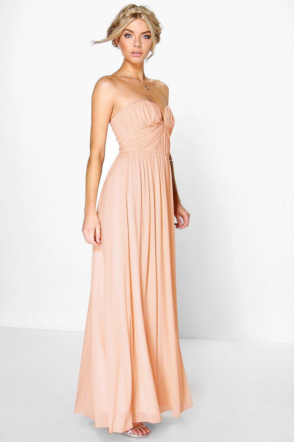 Como hacer un vestido largo fruncido