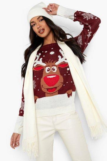 Next Christmas Jumpers.Reindeer Christmas Jumper