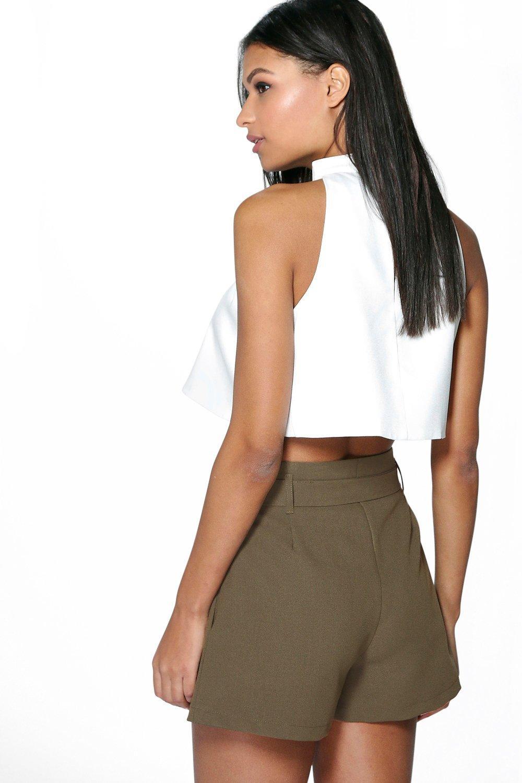 Pantaloncini e con fiocco e Pantaloncini con Pantaloncini cintura e fiocco con cintura Pantaloncini fiocco cintura cintura con AwU7BSxdq
