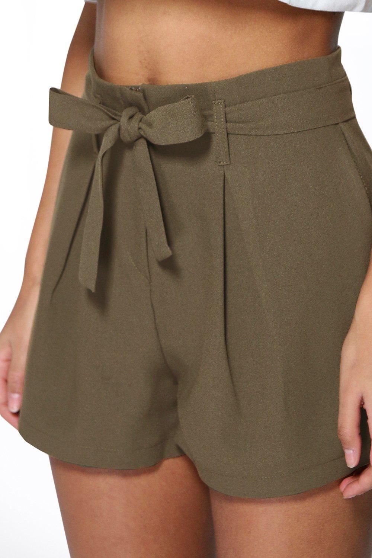 cintura con cintura e Pantaloncini fiocco fiocco con Pantaloncini cintura Pantaloncini fiocco e e con wxP6w