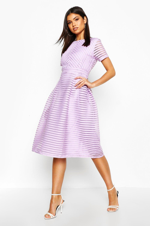 Boutique Full Skirted Prom Midi Dress | Boohoo