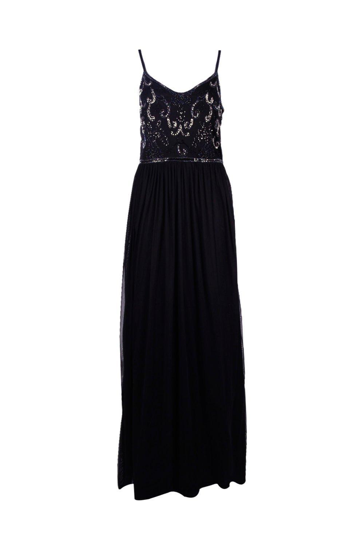 d1d3ce2265de Boohoo-Womens-Lisa-Boutique-Embellished-Prom-Maxi-Dress thumbnail