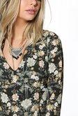 ... Sophia Floral V Neck Gypsy Dress alternative image caef399ab