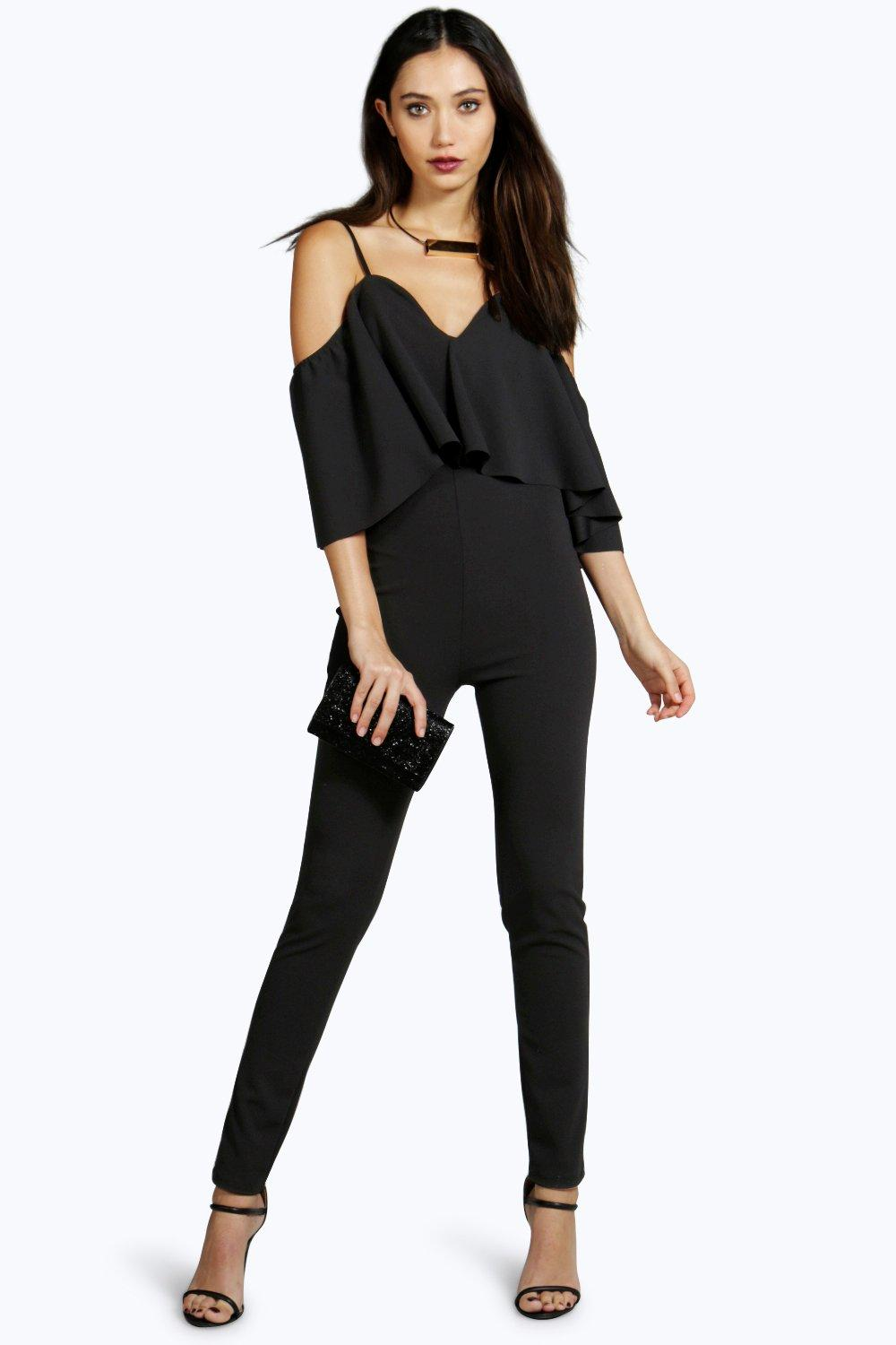 d020fa1568 Andrea Cape Style Jumpsuit. Hover to zoom
