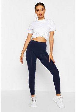 Navy Basic Supersoft Leggings