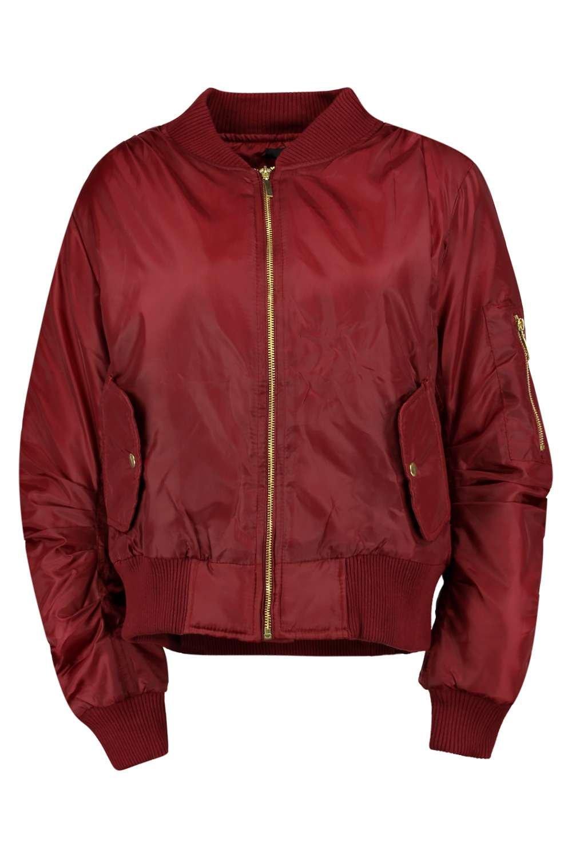 Boohoo Womens Khloe Ma1 Bomber Jacket Ebay