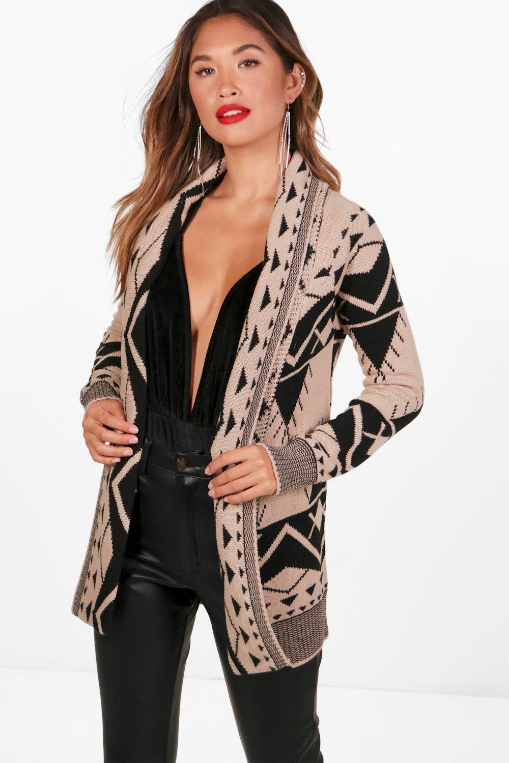 92863064b2 Aztec Cardigan. Hover to zoom