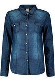 d4cabd3b7dc ... Lisa Slim Fit Dark Wash Denim Shirt alternative image ...