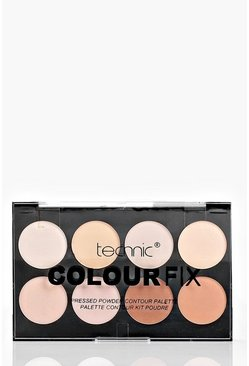 Colour Fix Pressed Powder Contouring Palette, Телесный, Женские
