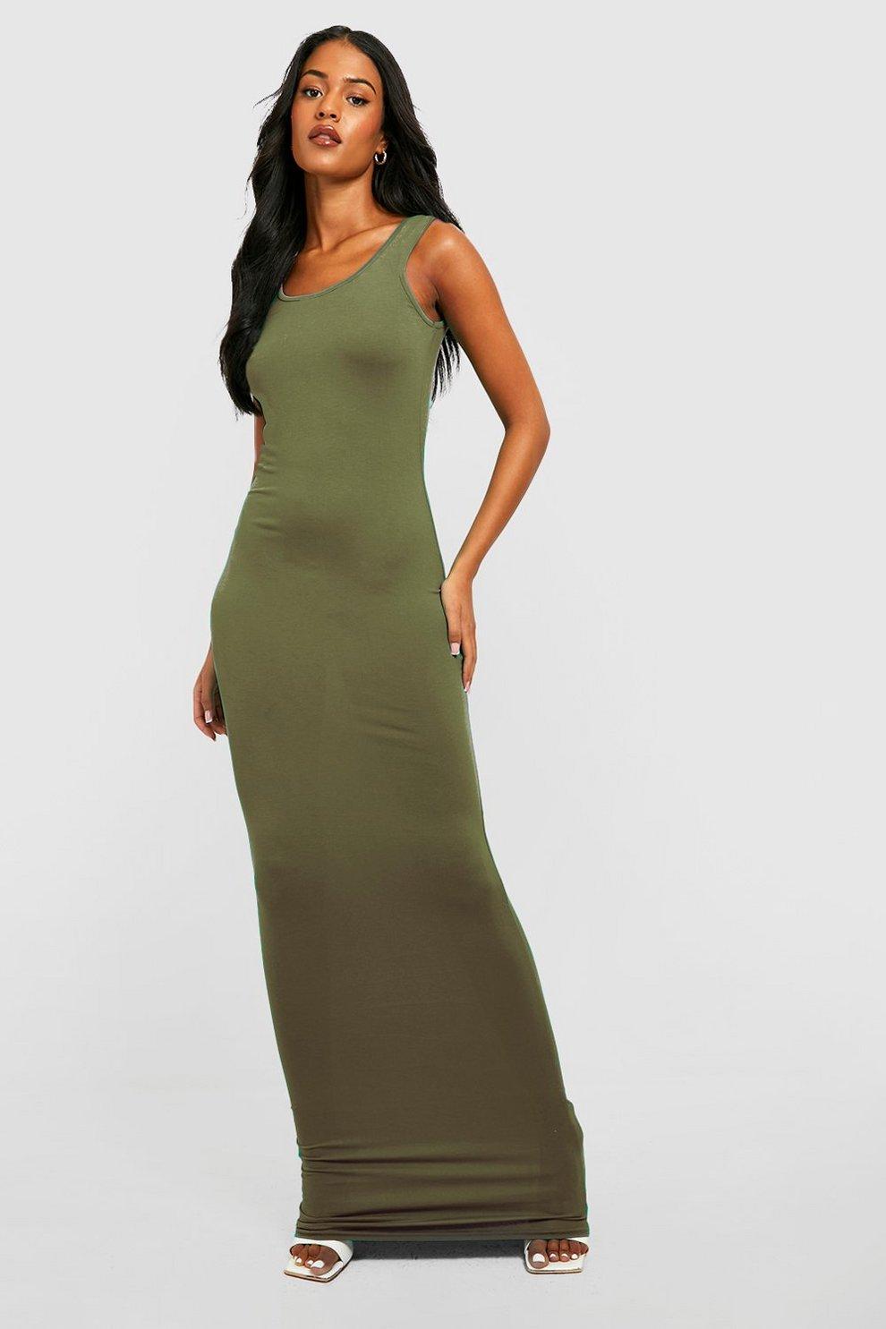 77a14459e Tall Basic Maxi Dress   Boohoo