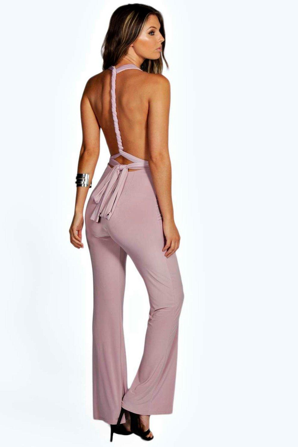 7e80eaf149a Maria Multi Way Slinky Jumpsuit