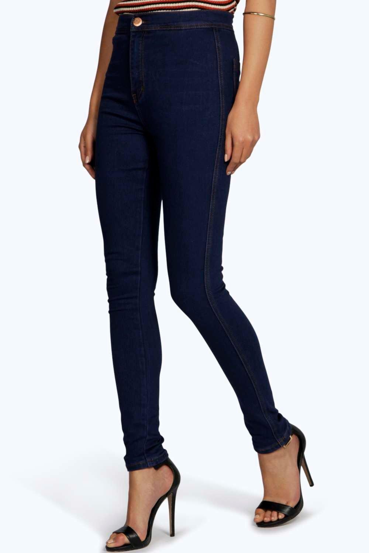 eb32b7d733a2b Lara High Rise Skinny Tube Jeans