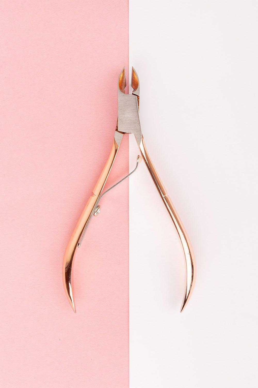 Image of Tronchesi per cuticole Brushworks, Oro Rosa