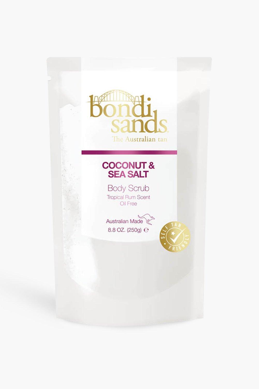 womens bondi sands tropical rum c and s body scrub - white - one size