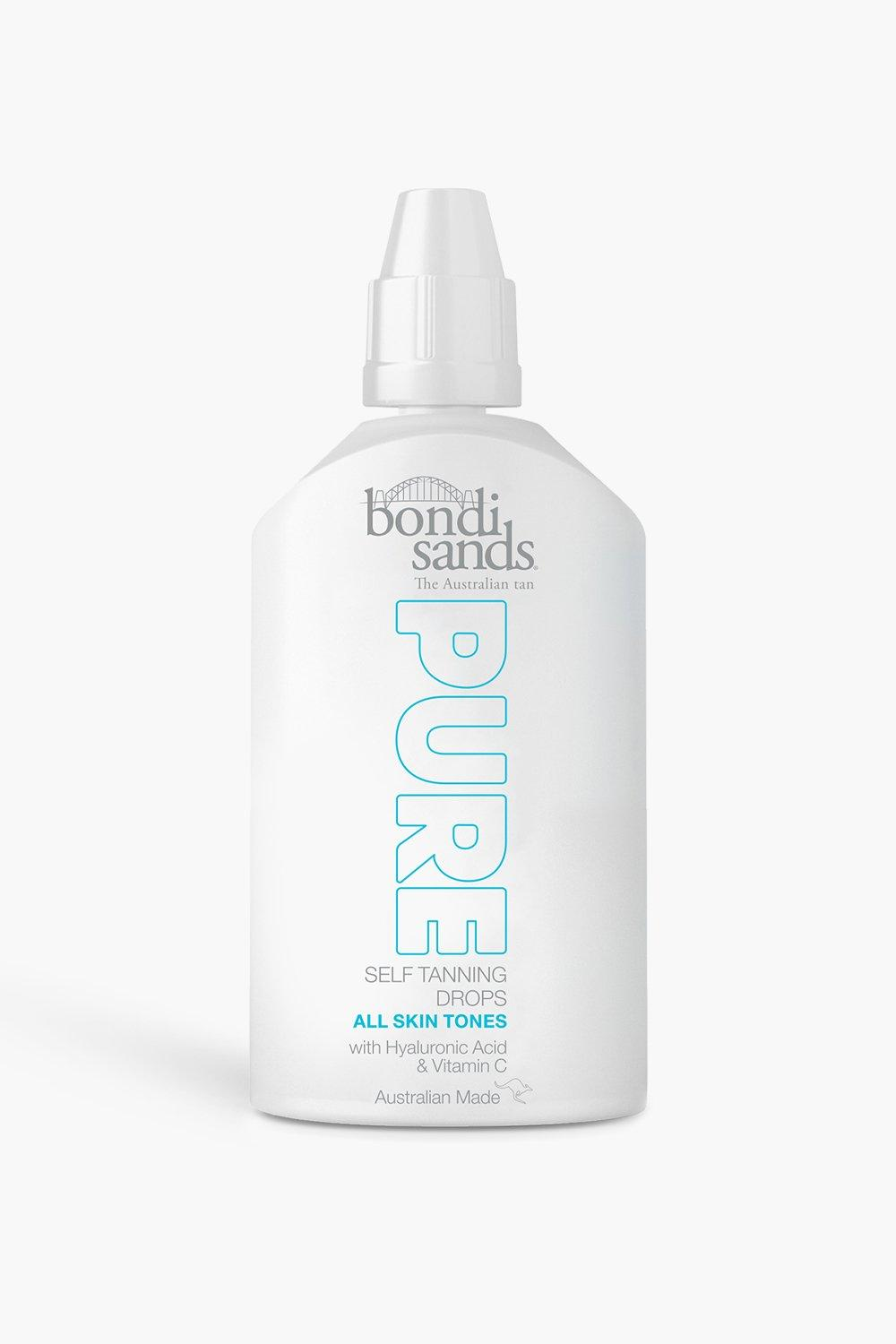 womens bondi sands pure concentrated self tan drops - white - one size