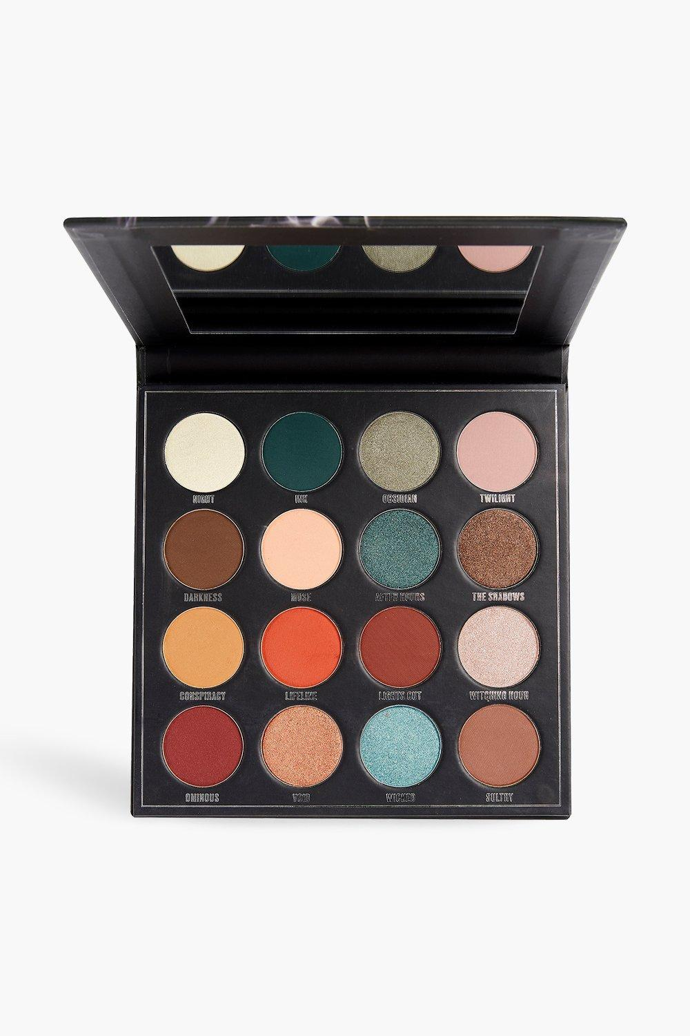 womens makeup obsession after dark shadow palette - multi - one size