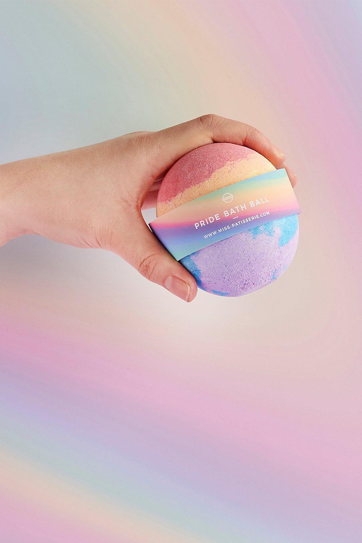 womens miss patisserie pride bath ball - multi - one size