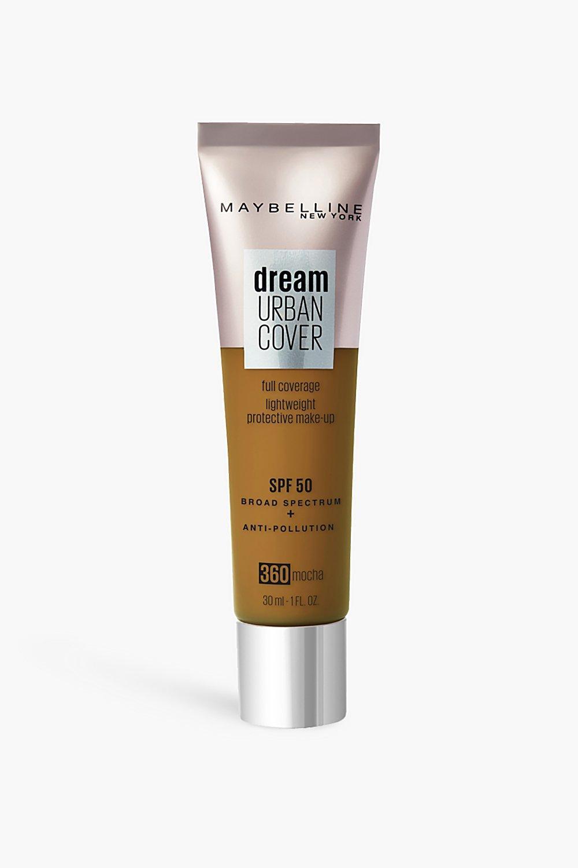womens maybelline urban cover foundation mocha - beige - one size