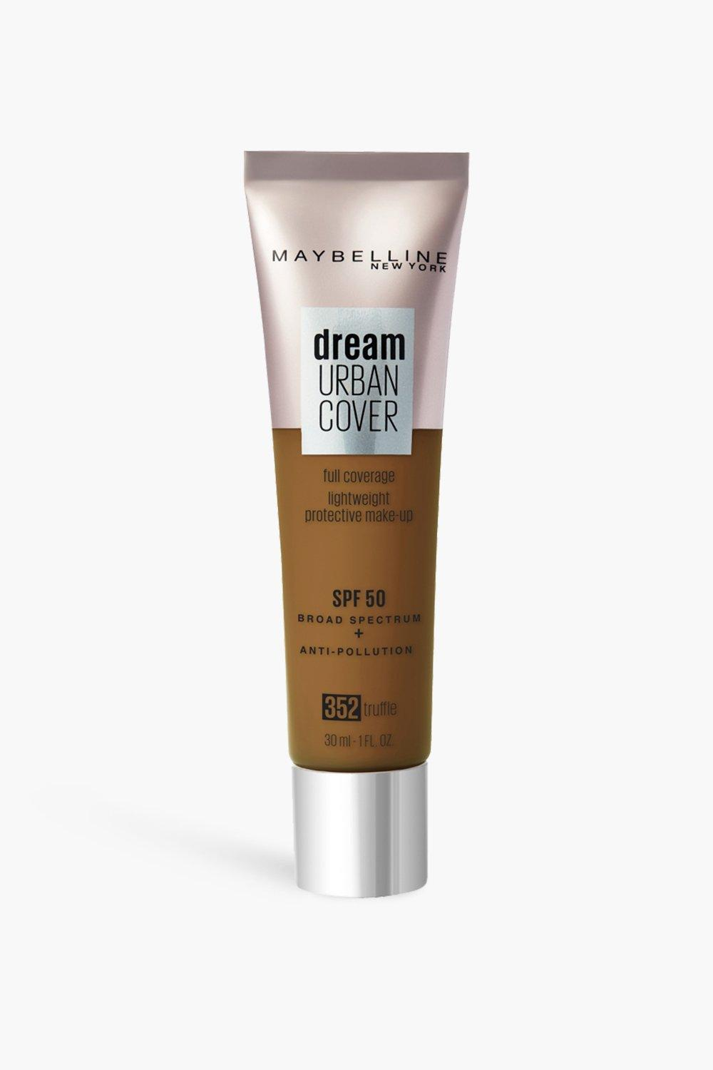 womens maybelline urban cover foundation truffle - brown - one size